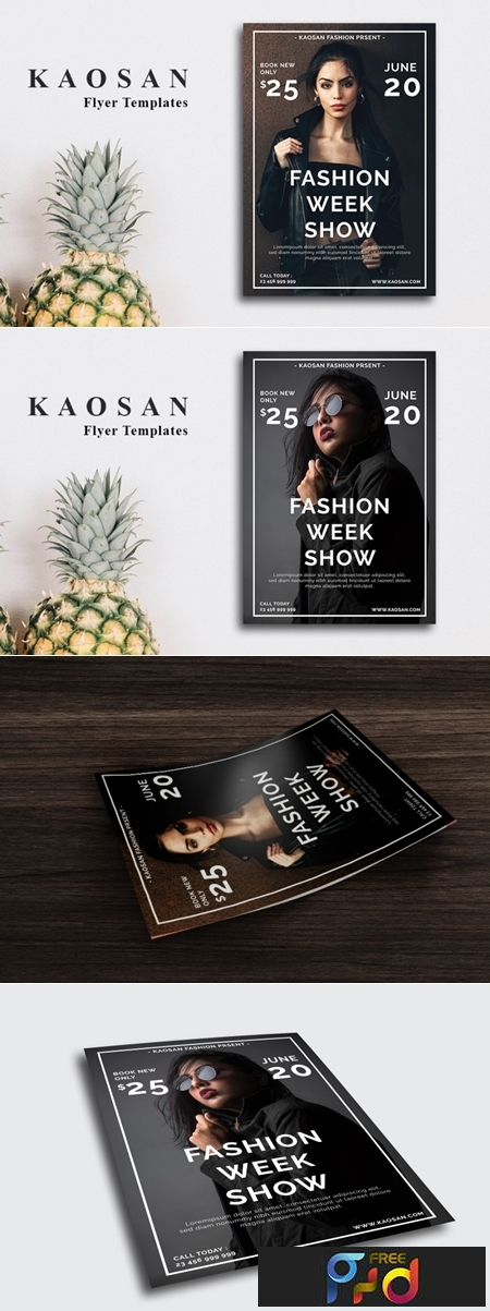 Fashion Show Flyer Template 3560596 1