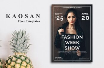 Fashion Show Flyer Template 3560596 6