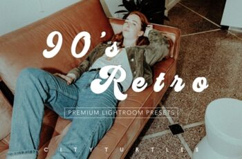 90'S RETRO Moody Lightroom Presets 3617887 6