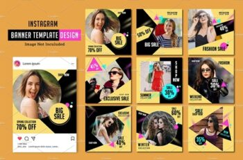 Instagram Fashion Promo Pack V991 3618361 4