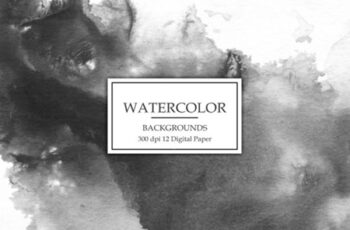 Black Watercolor Backgrounds 1272662 7