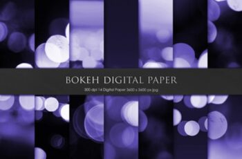 Bokeh Digital Paper 1272674 7