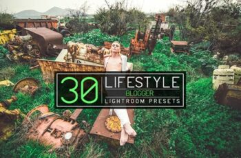 30 Lifestyle Blogger Lightroom Presets 3554737