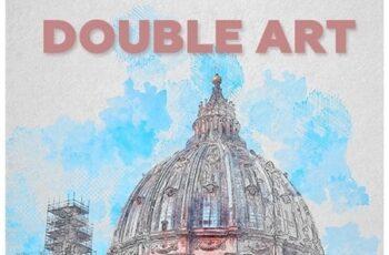Double Art Photoshop Action 23248160 6