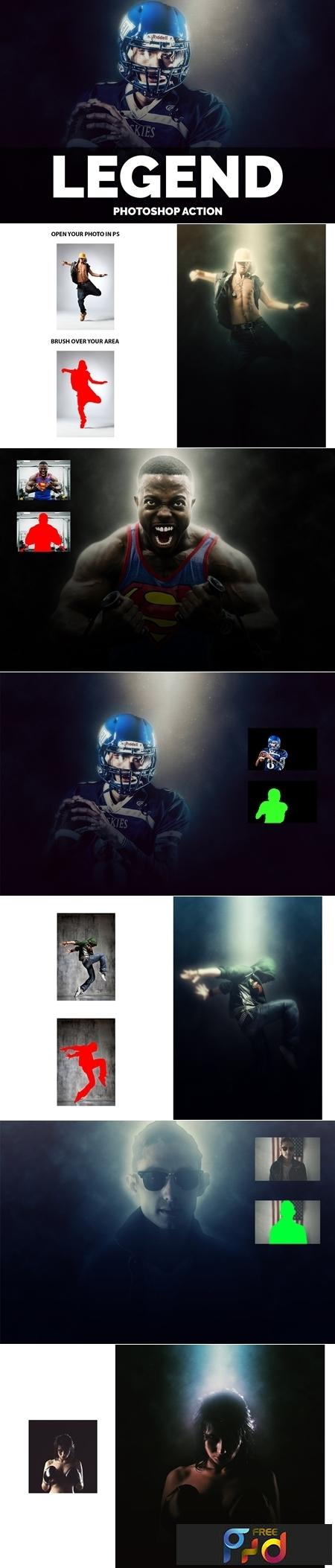 Legend Photoshop Action 3702065 1