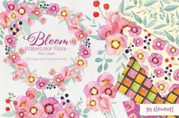Bloom Watercolor Flora #31 2311881 9