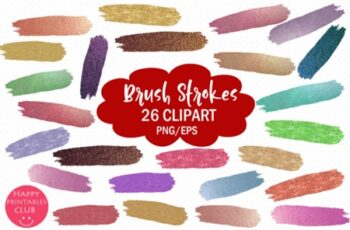 Brush Strokes Clipart Images 1274840 2