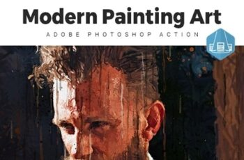 Modern - Painting Art Photoshop Action 23557918 8