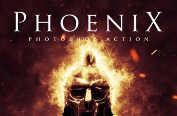 Phoenix - Photoshop Action 23559385 7