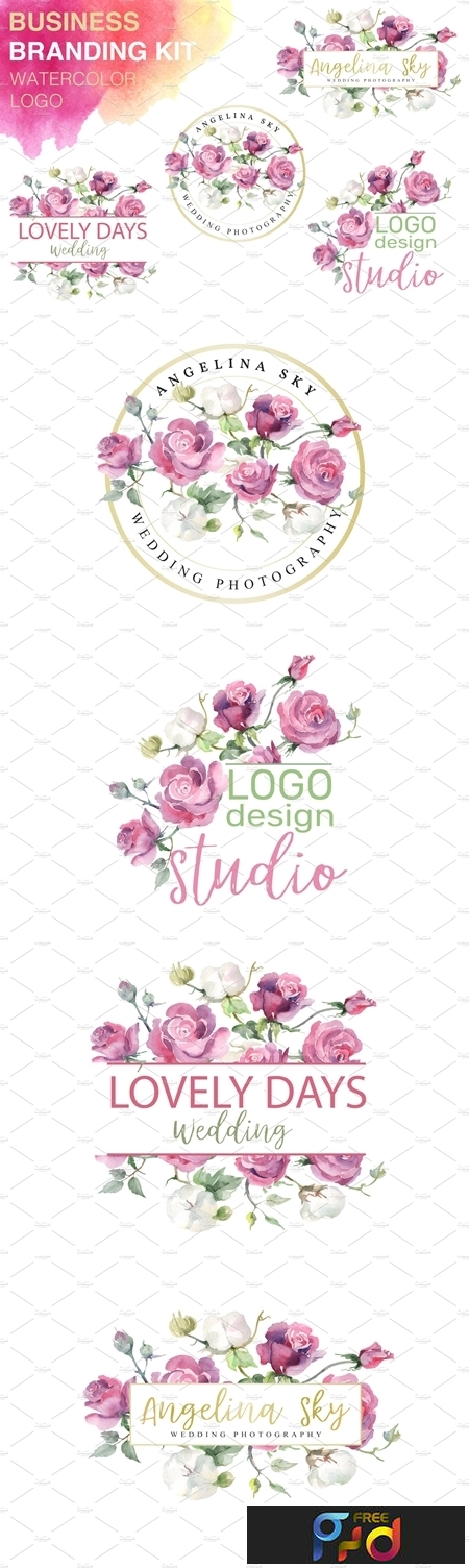 LOGO with pink roses and cotton 3744947 1