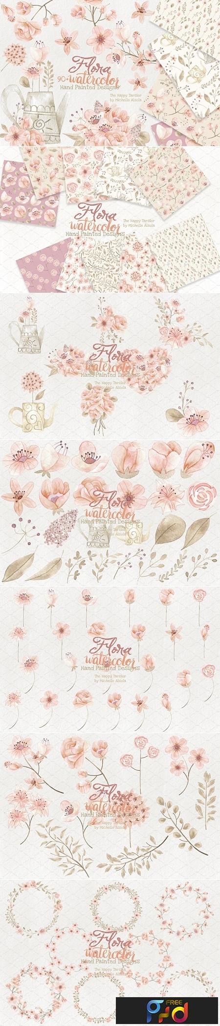 Watercolor Flora #028 2051459 1