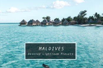 Desktop Lightroom Presets MALDIVES 3622046 7