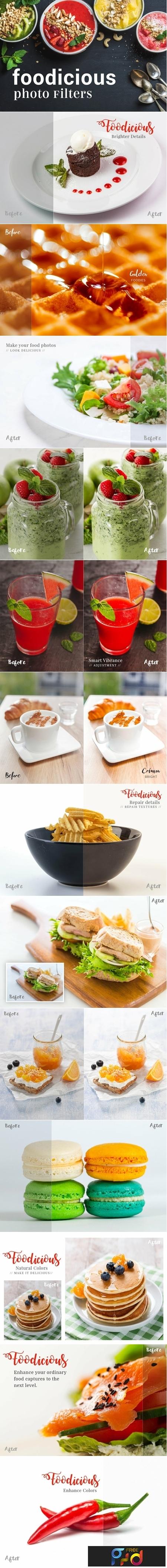 Foodicious Pro - Lightroom Presets 1
