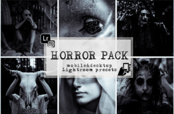 Horror presets lightroo mobile pc dark preset 3