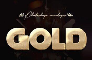 3D Gold Text Effects 23653176 6