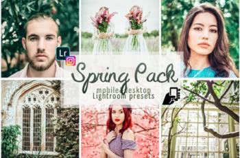 Spring presets adobe lightroom pc mobile 2