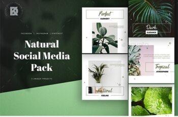 Natural Social Media Pack 23630231 5