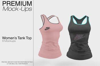 Women's Tank Top Mockup Pack 2390758 4