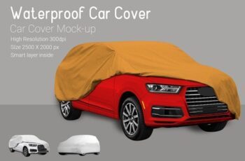 Car Cover Mock-Up 3726487 3