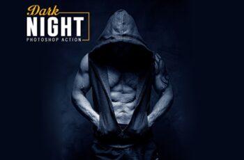 Dark Night Photoshop Action 4