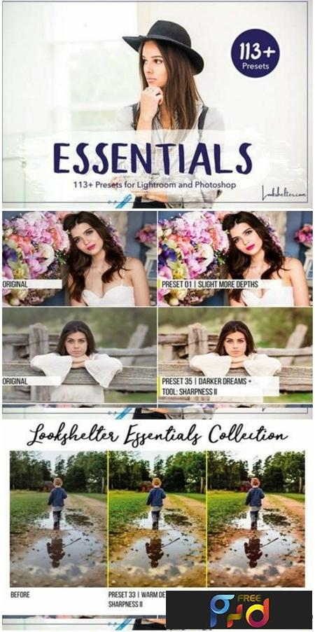 Essentials Lightroom & ACR Presets 1