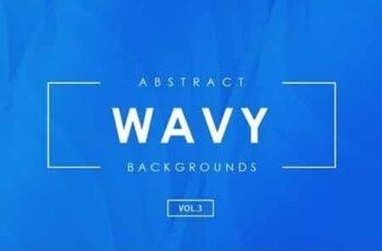 3D Wavy Backgrounds Vol.3 5