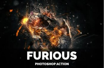 Furious Photoshop Action 5