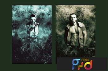 Grunge Photoshop Action 6