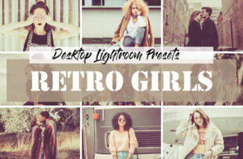 Lightroom Retro Girls Presets 6