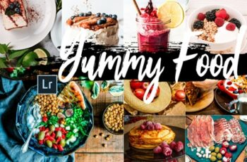 Neo Yummy Food Theme Desktop Lightroom Presets 7