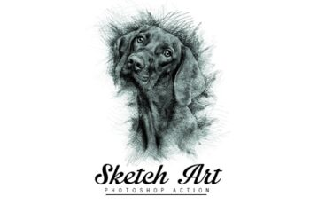 Sketch Art Photoshop Actions 6