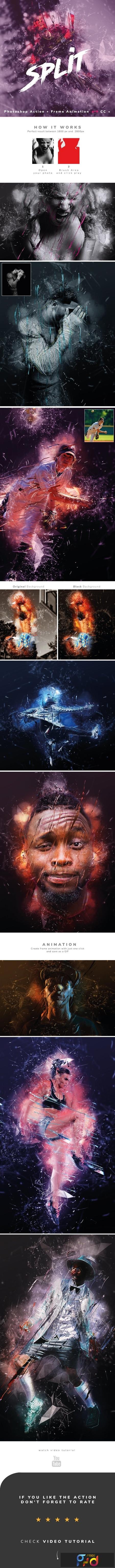 Split Photoshop Action + Animation 23607441 1