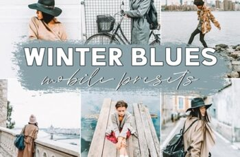 Winter Blues Mobile Presets 3621104 7