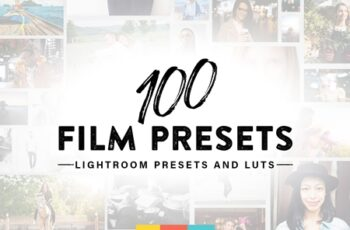 100 Film Lightroom Presets and LUTs 3651097 5