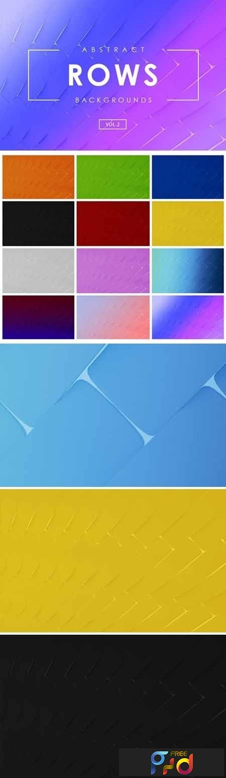 Rows Abstract Backgrounds Vol.2 1