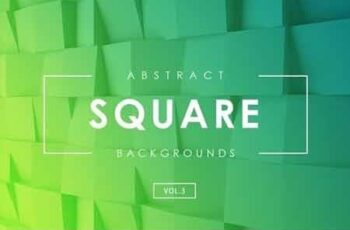 Square Abstract Backgrounds Vol.3 7