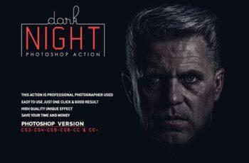 Dark Night Photoshop Action 5