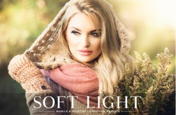 Soft Light Mobile & Desktop Lightroom Presets 8