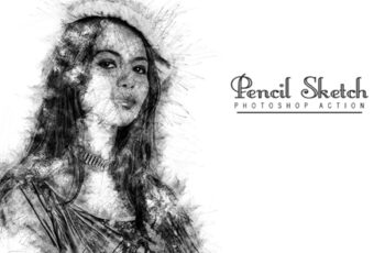 Pencil Sketch Photoshop Action 6