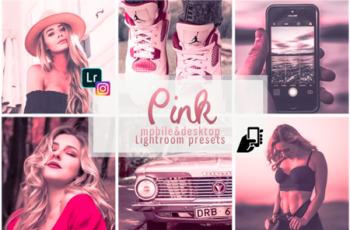 Pink presets mobile instagram pc filter rose effects vsco 5