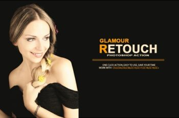Glamour Retouch Photoshop Action 4