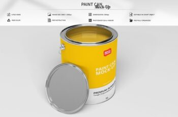 Paint Can Mock-Up 3732456 3