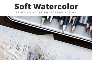 Soft Watercolor Painting Photoshop Action 23632531 3