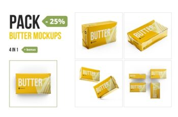 Butter 200g. Pack 4 in 1 + bonus 3564113 2