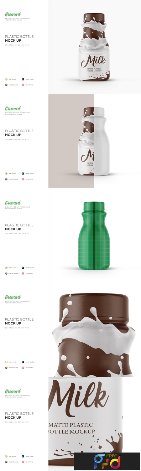Matte Plastic Bottle Mockup 3522967 1
