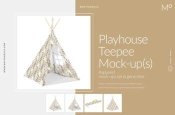 Playhouse Teepee Mock-ups 3560382 6