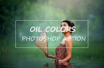 Oil Colors - Photoshop Action 3174736