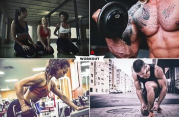 Workout Photoshop Actions 3175119 7