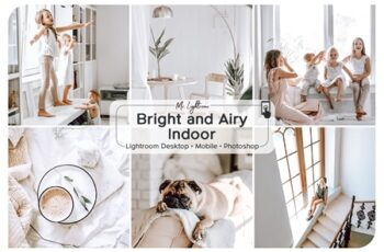 Bright and Airy Indoor Presets 3719578 7