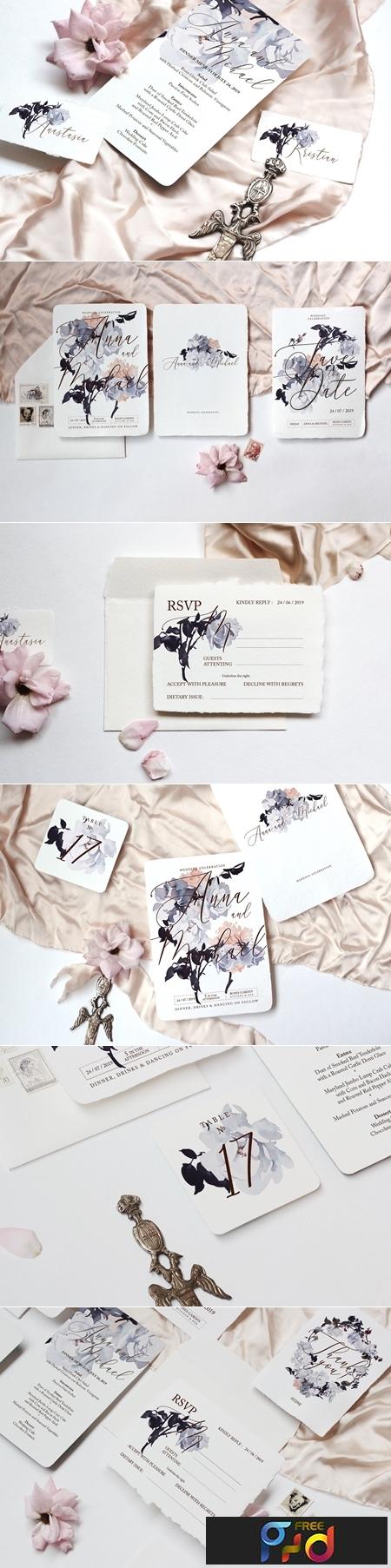 Roses Wedding Invitation Suite 3 3129800 1